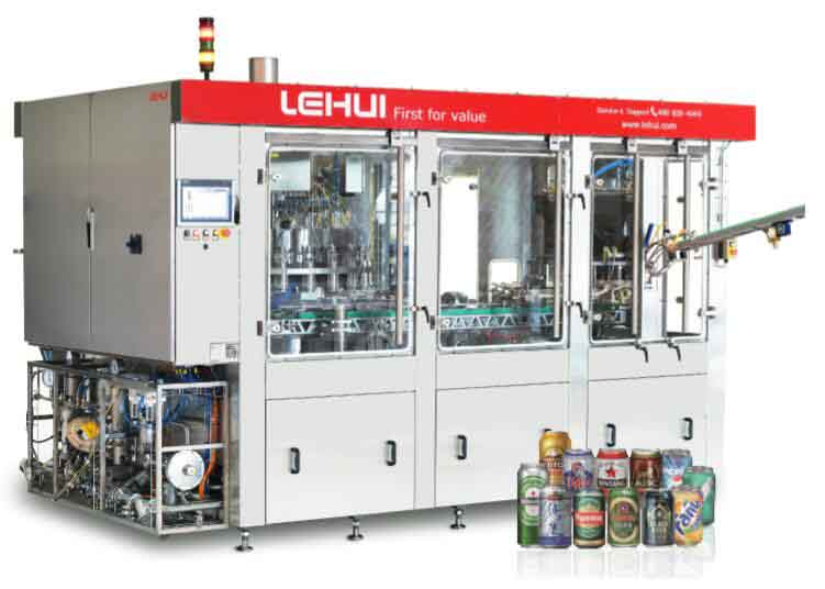 LH24-3 Can Filler & Seamer